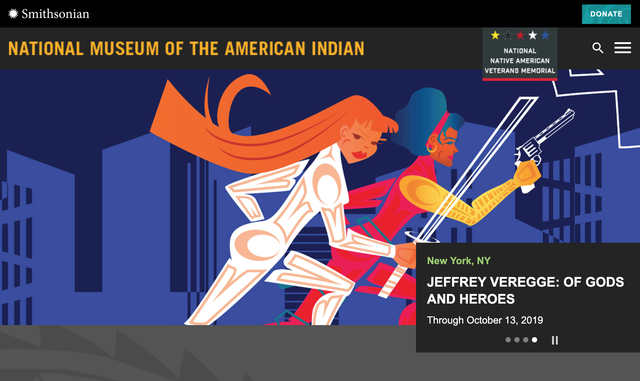 National Museum of the American Indian website